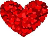 Hjärtdesign — Stockfoto