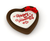 Valentine Chocolate — Stock Photo