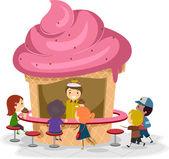 Ice Cream Stall — Stock Photo