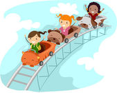 Roller Coaster Ride — Stock Photo