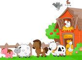 Landbouwhuisdieren — Stockfoto