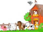 农场动物 — 图库照片