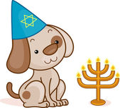 Dog Passover — Stock Photo