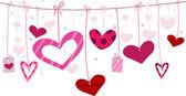 Corde del cuore — Foto Stock