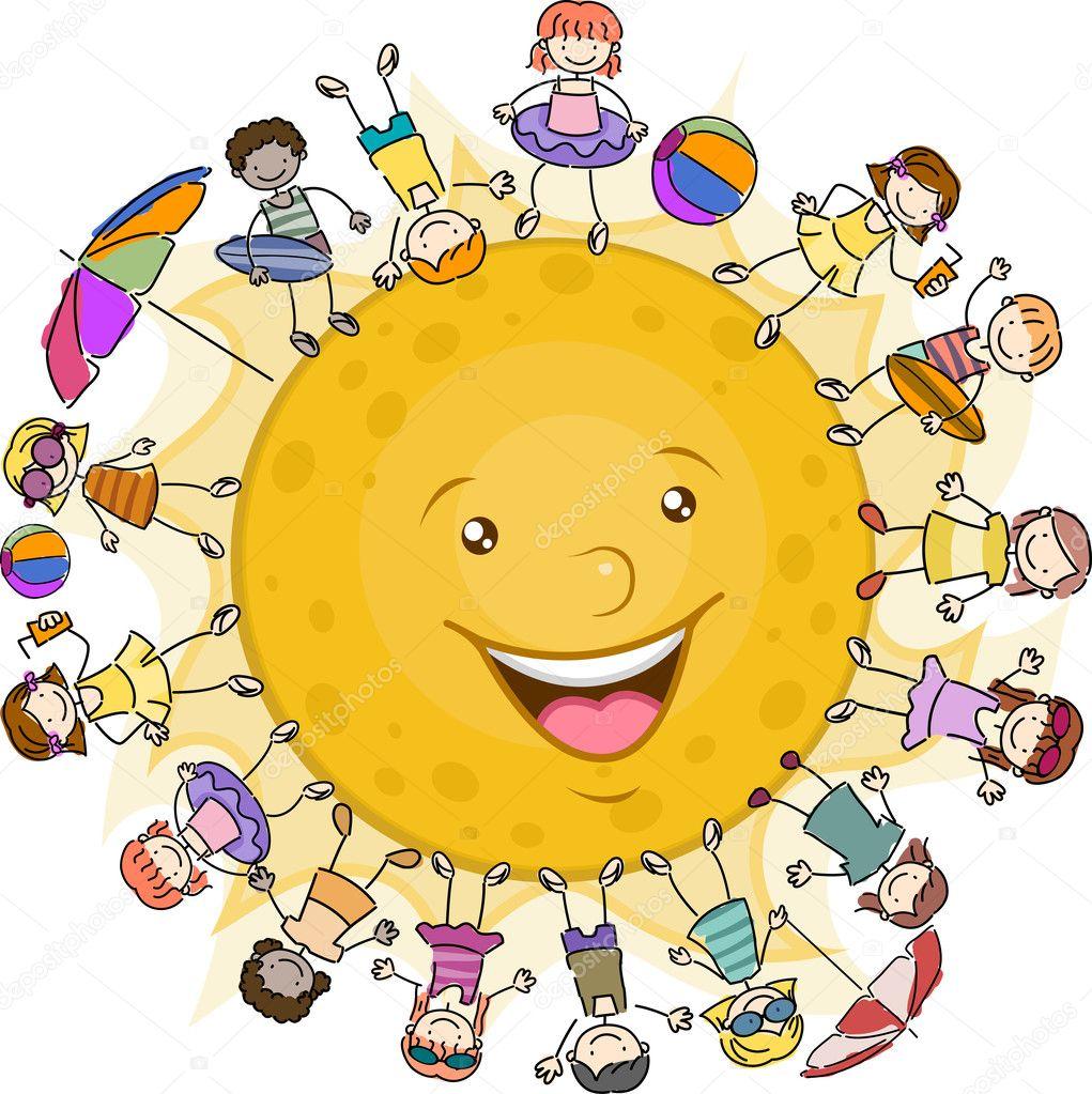 солнце для детей фото
