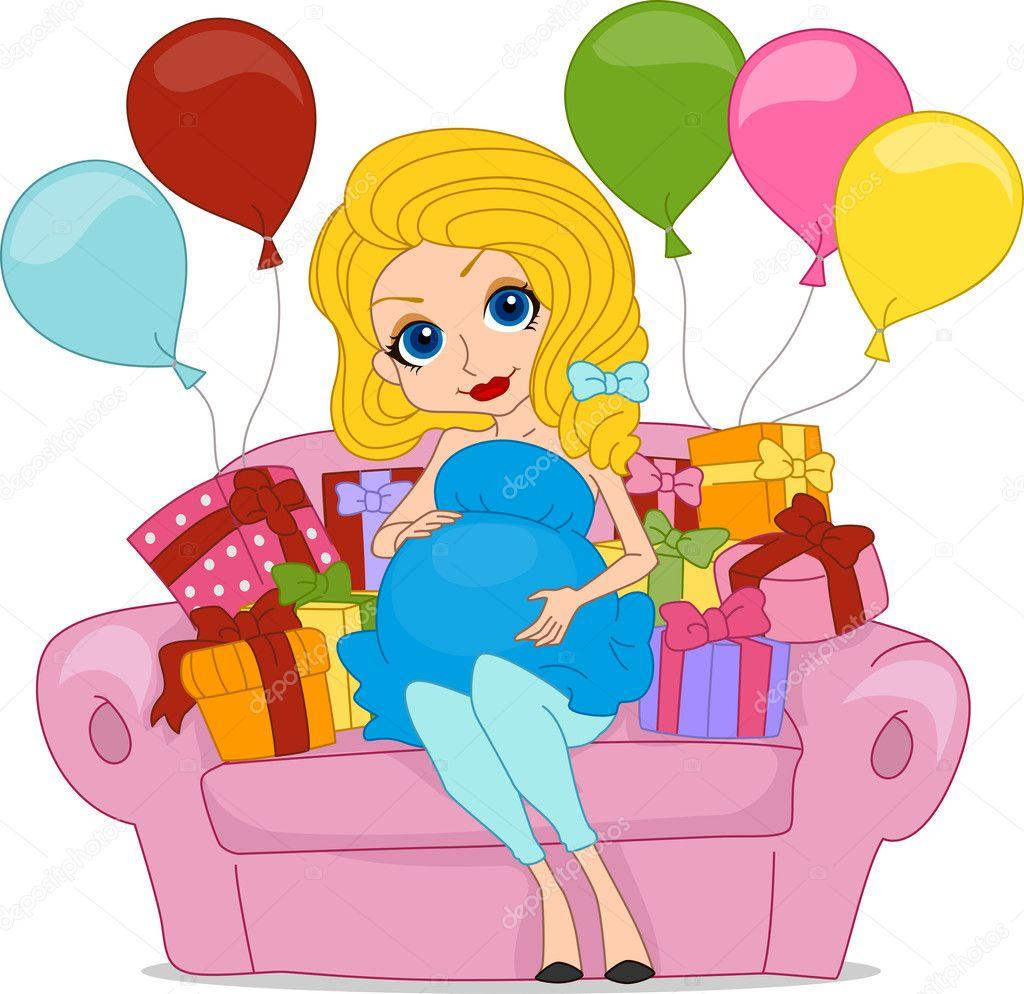 Поздравления с днём рождения беременной девушке красивые