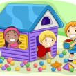 Playhouse — Stock Photo