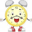 Kids Alarm Clock - Stock Photo