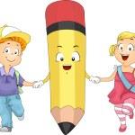 Kids Pencil — Stock Photo