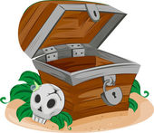 Treasure Chest — Stockfoto
