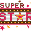 Super Star — Foto de Stock
