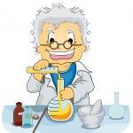 Постер, плакат: Scientist in a Laboratory