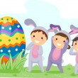 Stock Photo: Egg Hunt