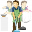 Stock Photo: Household Chores
