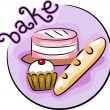 Baking Icon — Stock Photo