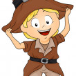 Pilgrim Costume - Stock Photo