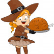Foto de Stock  : Thanksgiving Turkey