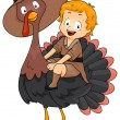 Thanksgiving Turkey — Stock Photo #7599596