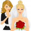 wedding planner — Stock Photo