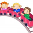 Park Ride — Stock Photo