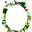 Foto Stock: Christmas Frame