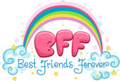 Best Friends Forever — Stock Photo