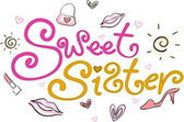 Sweet Sister — Stock Photo