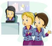 Office Gossip — Stock Photo