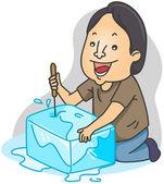 Ice Pick — Stock Photo