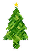 Christmas Tree Design — Stock Photo