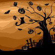 Halloween Tree — Stock Photo #7600075