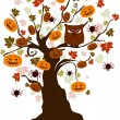 Halloween Tree — Stock Photo