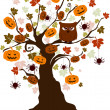 Stock Photo: Halloween Tree