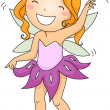 Dancing Fairy — Stock Photo