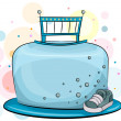 Royalty-Free Stock Photo: Cake for Baby Boys