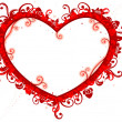 Royalty-Free Stock Photo: Heart-shaped Frame