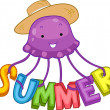 Summer Jellyfish - Stock Photo