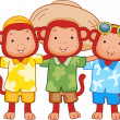 Monkey Friends - Stock Photo