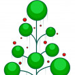Christmas Tree Design - Stock Photo