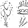 Birthday Stencil — Stock Photo #7600655