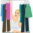 Stock Photo: Closet