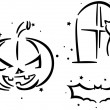 Halloween Stencil — Stock Photo #7600702