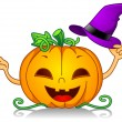 Royalty-Free Stock Photo: Pumpkin Witch Hat