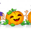 Happy Pumpkins — Stock Photo #7600821