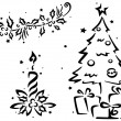 Christmas Stencil — Stock Photo #7600848