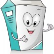 Milk Carton — Stock Photo