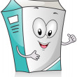 Milk Carton — Stock Photo #7600982