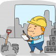 Construction Inspector — Stock Photo