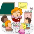 Foto de Stock  : Preschool Teacher