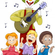 Children Singing - Stock Photo